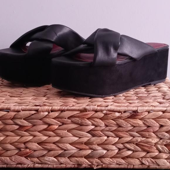 Zara Trafaluc Platform Sandals